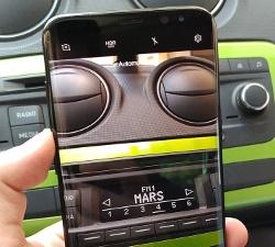 Hình ảnh sống động bề mặt trước của Samsung Galaxy S8+