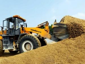 Giá cát xây dựng tăng cao, nhà thầu 'mất ăn mất ngủ'