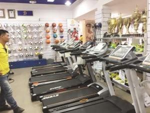 Thận trọng khi chọn mua máy tập thể dục
