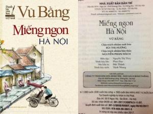 Tùy bút 'Miếng ngon Hà Nội' tái bản mới nhất bị thu hồi và tiêu hủy