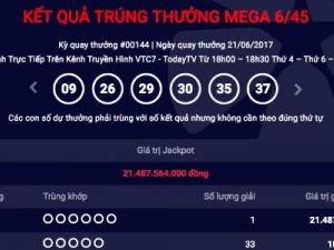 Xổ số Vietlott: Jackpot lại 'nổ' thêm một người Hà Nội 'ẵm' hơn 21 tỷ?