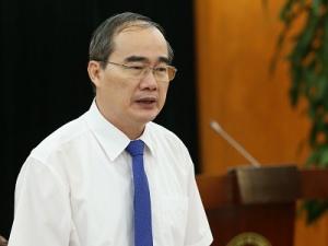 Bí thư Thành ủy TP. Hồ Chí Minh Nguyễn Thiện nhân đến thăm và làm việc với Bộ KH&CN