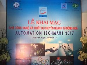 Chợ công nghệ và thiết bị chuyên ngành Tự động hóa 2017 chính thức khai mạc