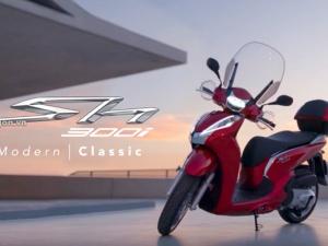 Honda ra mắt phiên bản SH 300i 2018 mới đẹp 'long lanh'