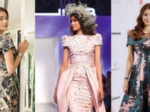 Vừa sải bước trên sàn diễn, Phạm Hương đã khiến Dubai Fashion Week 'chấn động'