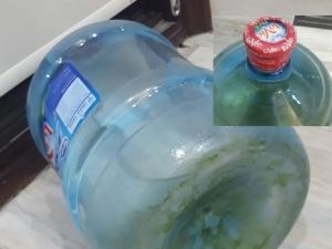 Vì sao Lavie 'né' kiểm tra chất lượng bình nước có rêu bên trong?