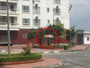 Phát hiện cây ATM nghi bị cài chất nổ nằm sát chung cư công ty than
