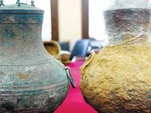 Trung Quốc: Phát hiện bình đồng chứa rượu cổ 2.000 năm tuổi của giới quý tộc xưa