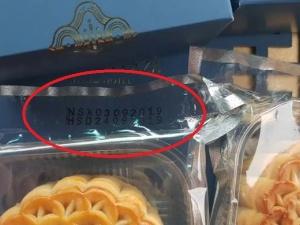 Bánh trung thu khách sạn Crowne Plaza West Ha Noi ghi lùi ngày sản xuất sau 8 ngày