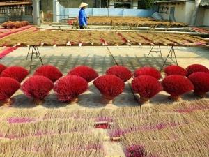 Làng hương lâu đời nhất Việt Nam nhộn nhịp dịp Tết và mùa lễ hội