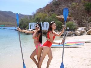 Những điểm check-in như Maldives tại Nha Trang Fun Island
