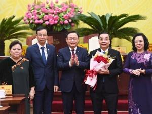 Ông Chu Ngọc Anh được bầu giữ chức Chủ tịch UBND TP.Hà Nội