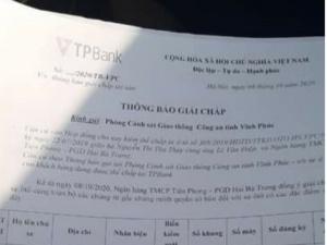 Khách hàng tố Ngân hàng TMCP Tiên Phong thu hồi nợ theo kiểu 'cướp tài sản'?
