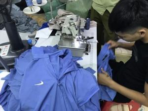 Điều tra công ty may mặc sản xuất hàng nhái thương hiệu nổi tiếng