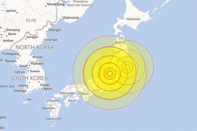 Tokyo rung chuyển vì động đất
