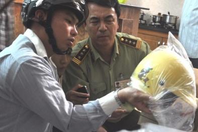 Niêm phong hàng nghìn mũ bảo hiểm hết hạn chứng nhận hợp chuẩn