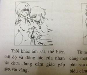 """""""Lý cùn"""" nhà xuất bản sách vẽ gợi dục, bạo lực"""