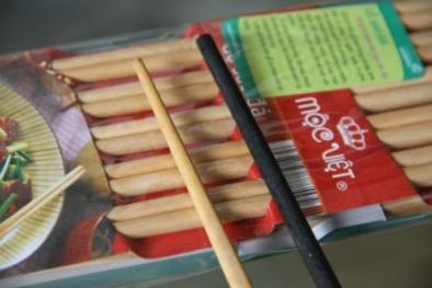 Cách phân biệt đũa sơn và đũa gỗ tự nhiên