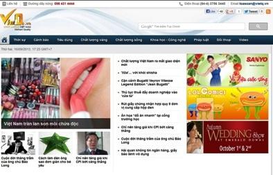 Chất lượng Việt Nam ra mắt giao diện mới