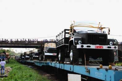 Lễ tang Đại tướng Võ Nguyên Giáp: Xe dùng chở thi hài đã đến Quảng Bình