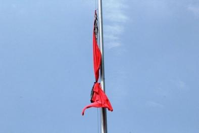 Cả nước treo cờ rủ để tang Đại tướng Võ Nguyên Giáp