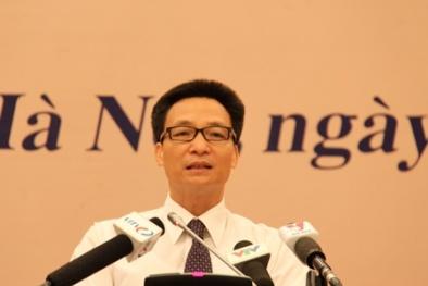 Tân Phó Thủ tướng ra mắt ngày 14/11