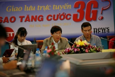 Tăng cước 3G: Cục Viễn thông lí giải nghi vấn thao túng thị trường