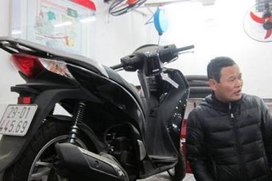 Vụ xe SH125i bị tố lỗi: Honda Việt Nam bất ngờ đổi xe mới cho khách hàng