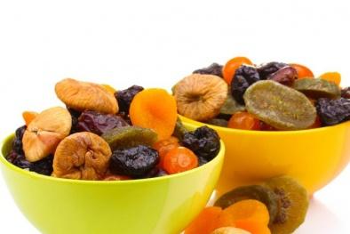Thu hồi hoa quả sấy gây tiêu chảy, ngộ độc