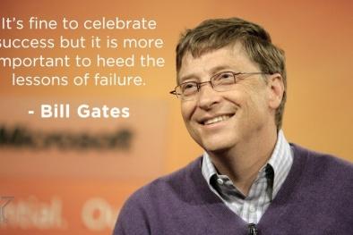 Những thất bại trong sự nghiệp của Bill Gates