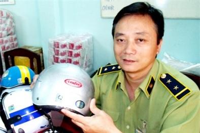 Cảnh báo tình trạng mũ bảo hiểm giả nhãn mác