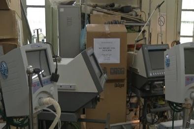 Bệnh viện chống sởi bằng máy hỏng của Bộ Y tế cấp