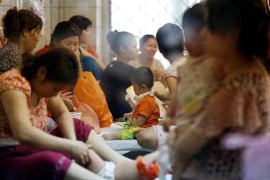 Trẻ tới viện bị nhiễm sởi: Cục y tế Dự phòng nói gì?