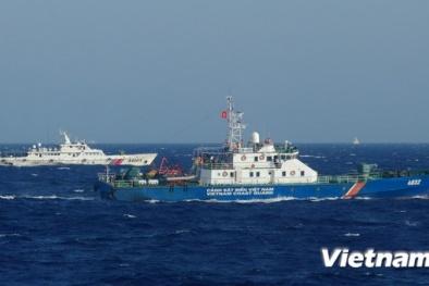 Tàu Trung Quốc ngăn cản tàu Việt Nam