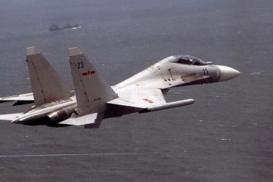 Máy bay Trung Quốc xâm phạm biển Việt Nam