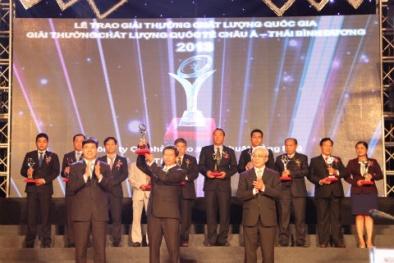 Giải thưởng chất lượng Quốc gia nâng tầm thương hiệu doanh nghiệp Việt