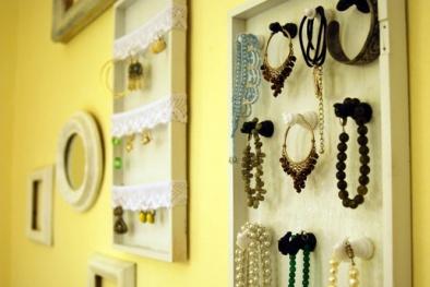 Hướng dẫn làm giá treo đồ trang sức