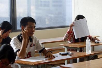 Điểm thi Đại học năm 2014 sẽ được công bố sau ngày 20/7