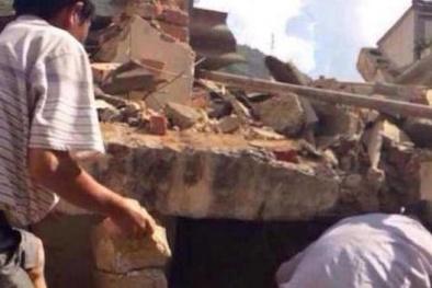 Động đất lớn ở Trung Quốc, ít nhất 150 người thiệt mạng