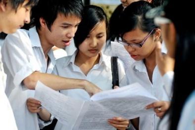 Điểm thi đại học năm 2014 dưới 15 điểm đăng ký xét tuyển nguyện vọng 2 trường nào?