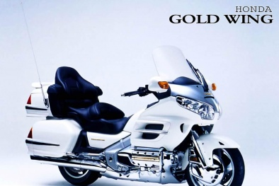 Siêu xe mô tô Honda GoldWing 2015 – Ông vua đường trường phiên bản '40 tuổi'