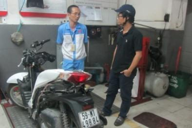 Xe SH 125cc của Honda VN mua hơn 1 năm sửa vài lần chưa xong