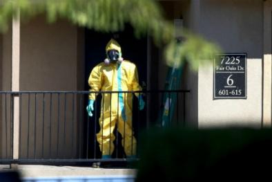 Bệnh nhân Ebola ở Mỹ từng lên máy bay