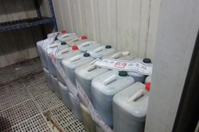 Phát hiện công ty Đài Loan sản xuất thực phẩm chứa thạch cao công nghiệp