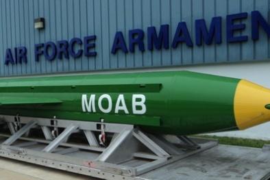 Những loại bom uy lực và tối tân của không quân Mỹ