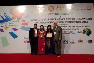 Chính thức trao giải GPEA năm 2014 cho 3 doanh nghiệp Việt Nam