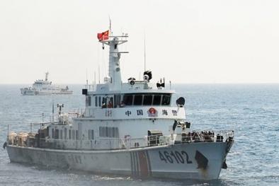 Tàu Trung Quốc manh động tấn công tàu cá Việt Nam