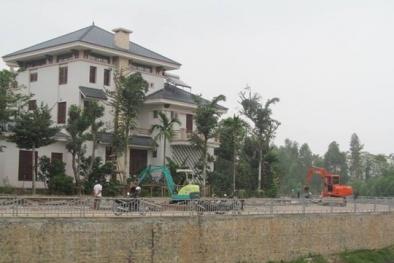 Cựu Phó Chủ tịch tỉnh Vĩnh Phúc lấn chiếm đất xây biệt thự lên tiếng