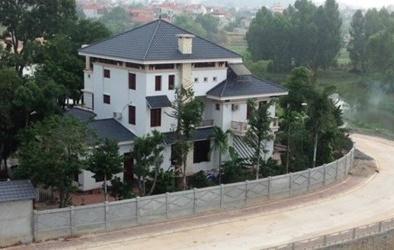 Cựu Phó Chủ tịch tỉnh Vĩnh Phúc lấn chiếm đất xây biệt thự: Bí thư nói gì?