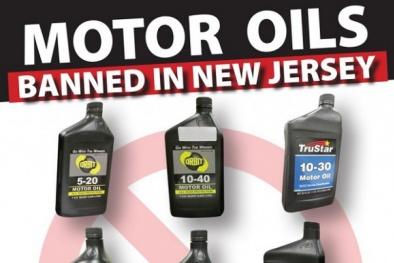 19 loại dầu nhớt xe máy kém chất lượng bị cấm tại Mỹ